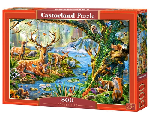 Puzzle 500: Forest Life (B-52929)