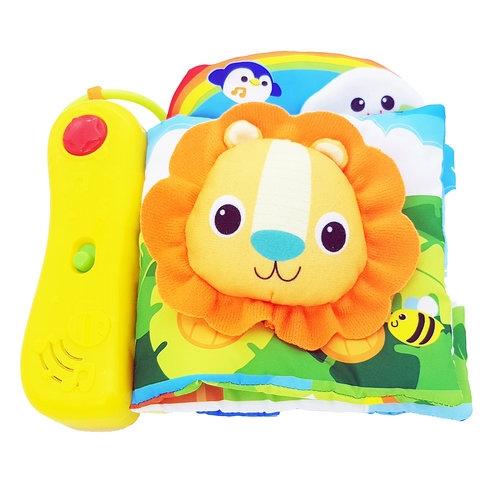 Smily Play sensoryczna książeczka dżungla (000200  AN01)