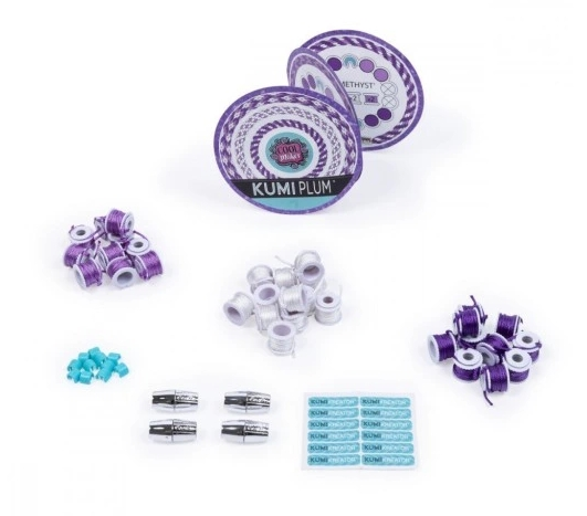 Cool Maker: Mały zestaw uzupełniający do bransoletek - Kumi Plum (6045486/20104790)