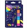 Farby plakatowe w sztyfcie Neon, 6 kolorów (444168)