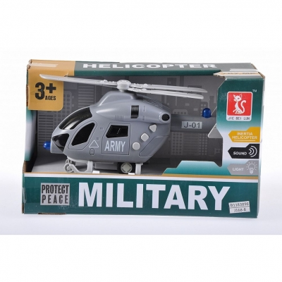 Helikopter Mega Creative wojskowy na baterie (459935)