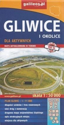 Mapa dla aktywnych - Gliwice i okolice 1:50 000 praca zbiorowa