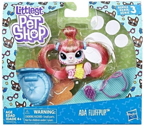 Littlest Pet Shop Zwierzaki Premium Ada Fluffpup (E2161/E2427)