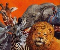Zwierzęta Safari