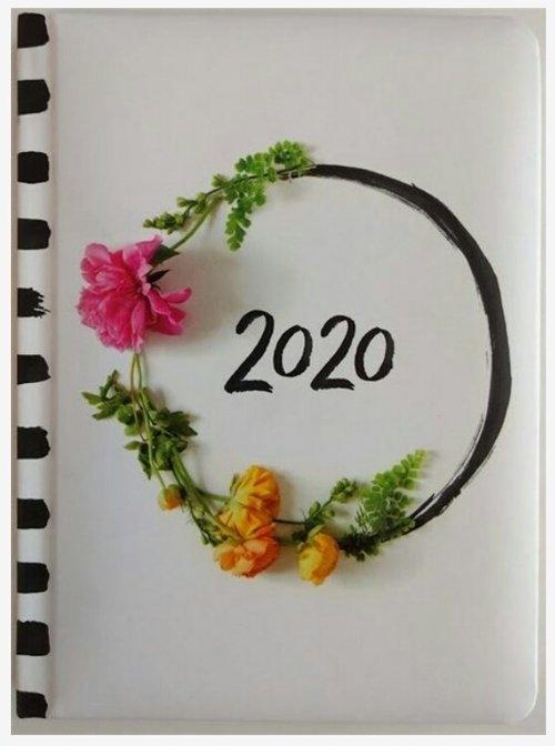 Kalendarz tygodniowy DI3 zdjęcie kwiatów