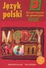 Język polski 3. Między nami. Zeszyt ćwiczeń część 2 Łuczak Agnieszka, Prylińska Ewa