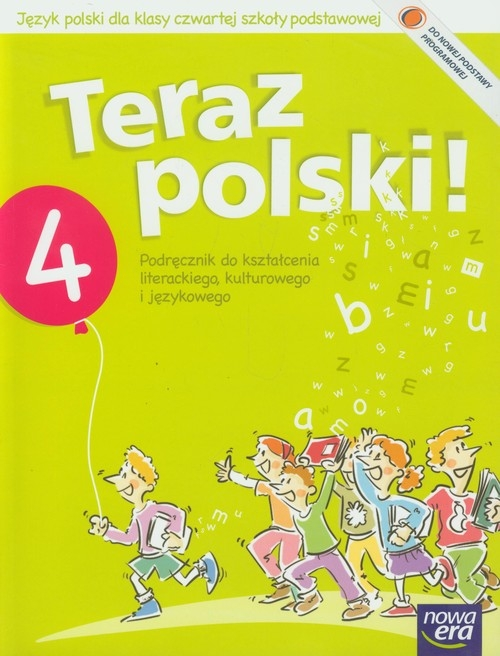 Teraz polski 4 Podręcznik do kształcenia literackiego kulturowego i językowego Klimowicz Anna