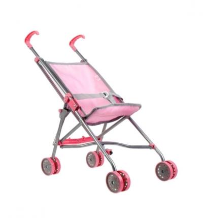 Wózek dla lalki - różowy