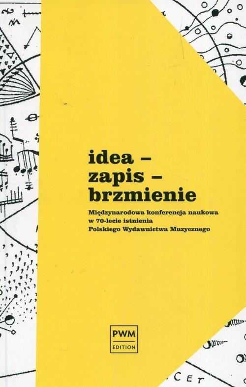 Idea zapis brzmienie Międzynarodowa konferencja naukowa w 70-lecie istnienia Polskiego