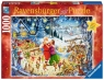 Puzzle 1000 elementów - Świąteczne przyjęcie u Mikołaja (198931)