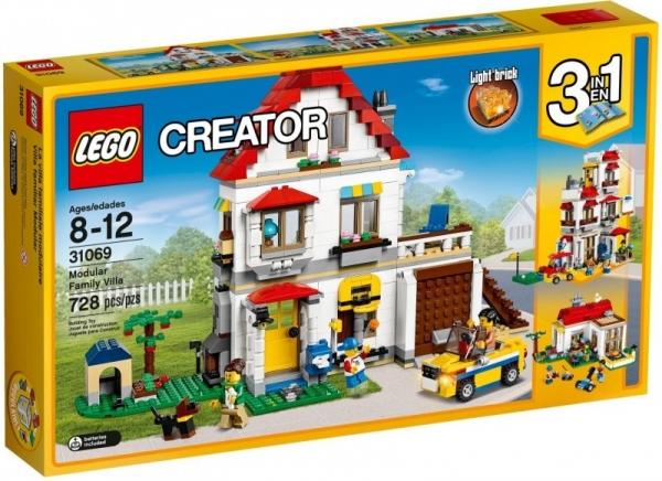 Lego Creator: Rodzinna willa (31069)