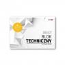 Blok techniczny premium A4/10k - biały (SPA018)