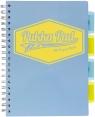 Kołozeszyt Pukka Pad B5 Project Book, 100 kartkowy, kratka, niebieski (3032S(BE)-PST)