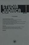 Studia Judaica 1/2013