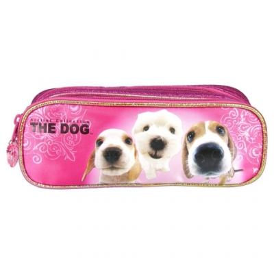 Piórnik dwukomorowy The Dog 23