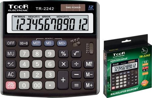 Kalkulator biurowy TR-2242 TOOR