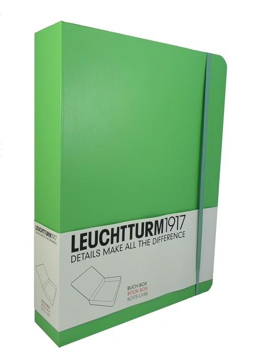 Pudełko-książka na dokumenty Leuchtturm1917 limonkowe