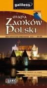 Mapa zamków polski   1 : 900 000