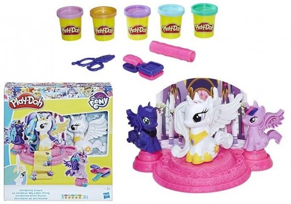 PlayDoh Kucykowy Salon Piękności (E1950)