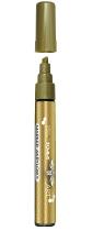 Marker akrylowy - złoty TO-40093
