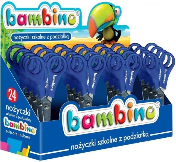 Nożyczki szkolne, BAMBINO