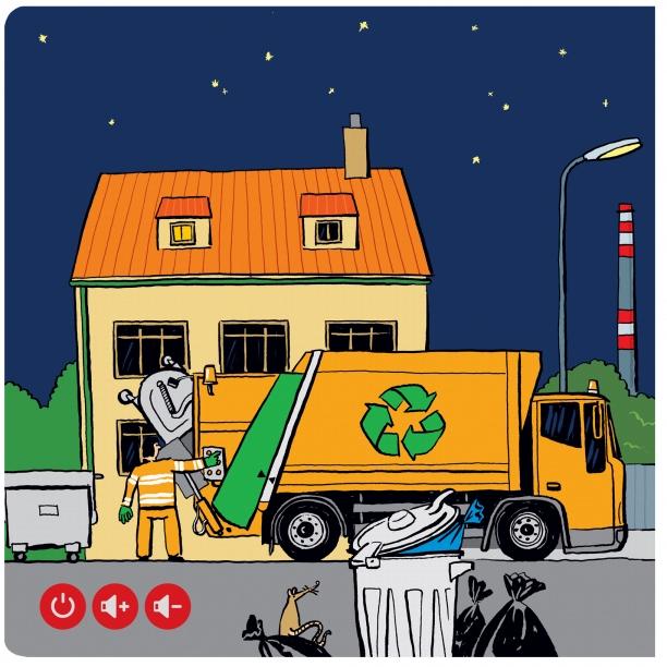 Czytaj z Albikiem. Śmieciarze. Interaktywna mówiąca książka (34548) Jan Lastovička, Šárka Pichrtová