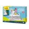 Puzzle 3D - Dom do kolorowania Wiek: 5+