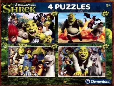 Puzzle Dreamworks: Shrek 2x20+2x60 (07609)