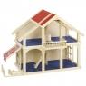 Domek dla lalek z patio, 2-piętrowy (GOKI-51893)