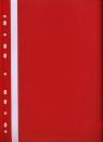 Skoroszyt z perforacją A4 Evo czerwony