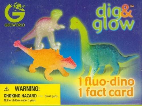 Wykopaliska świecące dinozaury mini Tyrannosaurus Rex