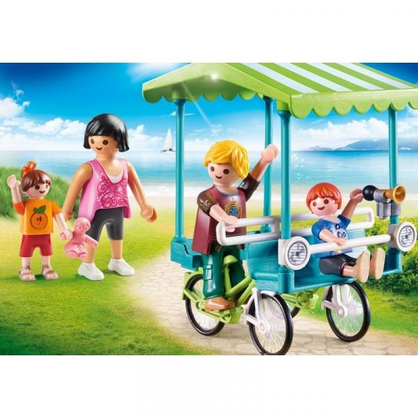 Playmobil Family Fun: Rower rodzinny (70093)