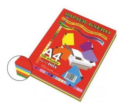 Papier ksero A4/100 arkuszy - kolorowy (202581)