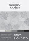 Blok Deco Grey A5/20