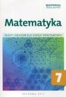 Matematyka 7 Zeszyt ćwiczeń Szkoła podstawowa Kiljańska Bożena, Konstantynowicz Adam, Konstantynowicz Anna