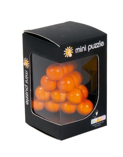 IQ-Test 3D Puzzle Piłka&Piramida pomarańczowa