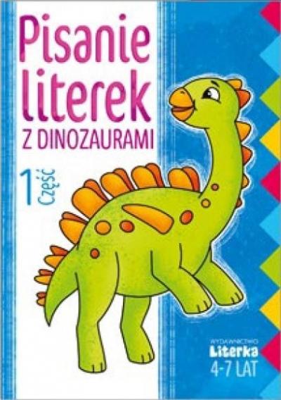 Pisanie literek z dinozaurami cz.1 praca zbiorowa