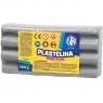 Plastelina Astra, 500 g - popielata (303117012)