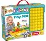 Cartiona Baby - Mata edukacyjna 70x50cm z klockami (304-79933)