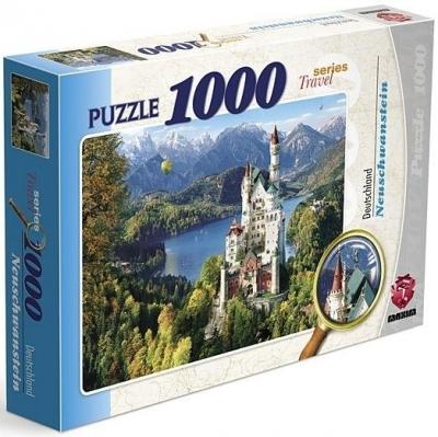 Puzzle 1000 Neuschwanstein praca zbiorowa