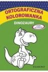Ortograficzna kolorowanka Dinozaury