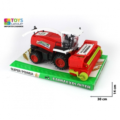 Kombajn Toys Group z napędem (TG219505)