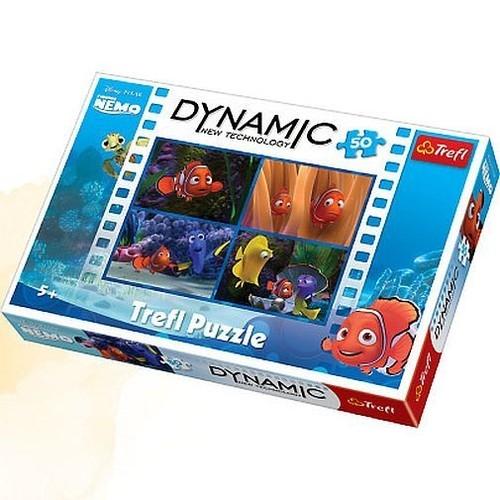Puzzle Dynamic Gdzie jest Nemo 50 elementów (35193)