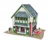 Puzzle 3D: Domki świata - Wielka Brytania, Sandwich Shop (306-23106)