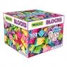 Klocki 102 elementy dla dziewczynek w kartonie (41293)