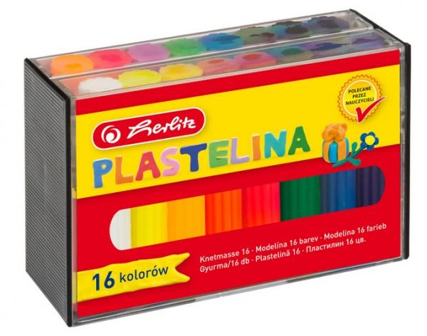 Plastelina Herlitz, 16 kolorów (9562935)