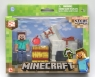 Minecraft Steve z koniem