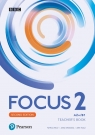 Focus Second Edition 2. Teacher's Book + CD + DVD + kod do Digital Resources