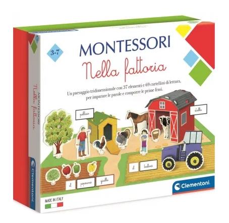 Clementoni, Montessori. Na farmie (50693)