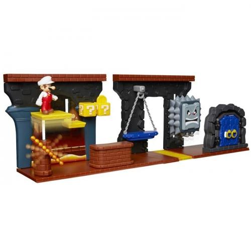Super Mario Zestaw Deluxe Dungeon z 6,5 cm figurkami - Dostępność 2/04